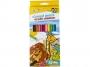 5564600 - kredki ołówkowe Gimboo sześciokątne, 12 kolorów