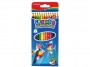 5564700 - kredki ołówkowe Keyroad trójkątne z gumką, 12 kolorów