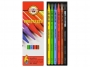 557069 - kredki bezdrzewne KOH-I-NOOR Progresso 6 kolorów