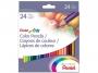 5570881 - kredki ołówkowe Pentel CB8-24, 24 kolory