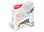5570892 - pastele, kredki do tkanin / tekstylne Pentel PTS 15 kolorów, zestaw z markerem, koszulką i wzornikiem