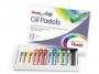 55709 - pastele, kredki olejowe / olejne Pentel 12 kolorów PHN-12
