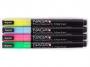5721874 - marker kredowy 2x3 fluorescencyjny, 4 szt./op.