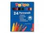 57223024 - flamastry Morocolor Primo, d�ugo�� 15cm, grubo�� ko�c�wki 2mm, 24 kolory w pude�ku kartonowym