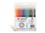 57223220 - flamastry szkolne Primo CMP Morocolor zmywalne 12 kolorów