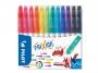 5722402 - flamastry szkolne ścieralne / wymazywalne z gumką Pilot Frixion,12 kolorów
