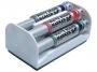 574179 - marker do tablic suchościeralnych whiteboard Pentel Maxiflo MWL5M, okrągła końcówka, 4 szt./kpl. z gąbka