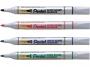 574185_ - marker do tablic suchościeralnych whiteboard Pentel MW85, okrągła końcówka, gr.linii 1,9 mm