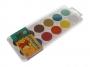 58206 - farby akwarelowe 12 kolorów  gwasze szkolne