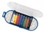 5837008 - farby plakatowe 8 kolorów w tubkach + pędzelek + pojemniczki + paletki Primo CMP Morocolor , zestaw, 8 x 12 ml
