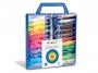 5837153 - farby plakatowe 22 kolorów w tubkach + 2 pędzelki Primo CMP Morocolor , op. plastikowa walizka, 22 x 12 ml