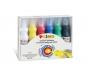 5837660 - farby plakatowe 6 kolorów w plastikowej butelce Primo CMP Morocolor 6 x 75 ml