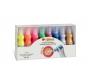 5837661 - farby plakatowe metalizujące oraz fluorescencyjne 8 kolorów CMP Morocolor 8 x 50 ml