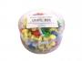 731056 - pinezki do tablic korkowych, kolorowe beczułki D.rect mix kolorów, 100 szt./op.