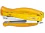 733095_ - zszywacz do 30 kartek Kangaro Vertika-45 C-THRU, zszywki, blister Towar dostępny do wyczerpania zapasów u producenta!