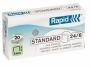 734570 - zszywki 24/6 Rapid Standard 2000 szt./op.