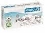 73457 - zszywki 24/6 Rapid Standard 1000 szt./op.