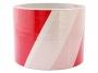 74496 - taśma ostrzegawcza nieklejona biało-czerwona, 80 mm x 100m