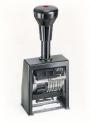 753010 - numerator automatyczny, samotuszujący 6 - cyfrowy 4,5 mm Reiner B6K plastikowy, lekki