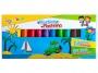 7610812 - plastelina 12 kolorów Gimboo szkolna