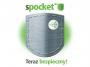 76367 - zabezpieczenie kart zbliżeniowych, ochrona do portfela Spocket Stop RfidZakup ochrony możliwy wyłącznie w zestwie z porfelem Spocket!!