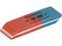 7700001 - gumka do ścierania Donau wielofunkcyjna, 57x19x8 mm, duża, czerwono-niebieska