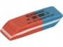 7700002 - gumka do ścierania Donau wielofunkcyjna, 40x15x8 mm, średnia, czerwono-niebieska