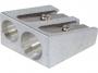 7740002 - temperówka metalowa podwójna Donau aluminiowa