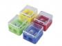 7740009 - temperówka plastikowa podwójna Donau mix kolorów