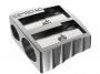 7740202 - temperówka aluminiowa podwójna Keyroad srebrna