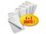 775516 - blok do flipcharta samoprzylepny 63,5x77,5 cm, 30 kartek 3M Post-it 559, 4 + 2 szt gratis