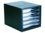 7764051 - pojemnik na dokumenty, czasopisma / sorter biurkowy Deli D9775 5 szuflad, 007222
