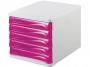 77716_ - pojemnik na dokumenty, czasopisma / sorter biurkowy Helit z 5 szufladami