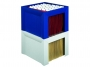 777612__ - pojemnik, kartoteka na teczki zawieszane HAN Karat A4 PS, składane, 360x320x264 mm, bez teczek