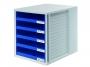 777632__ - pojemnik na dokumenty, czasopisma / sorter biurkowy HAN CabinetSet A4 z 5 szufladami