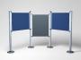 777732 - panel informacyjny A0 tkaninowy Acco NOBO system madułowy, ścianki Towar dostępny do wyczerpania zapasów