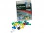 77857937 - pinezki do tablic korkowych, kolorowe beczułki 2x3 OfficeBoard, mix kolorów, 30 szt./op.