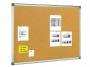 77859101 - tablica korkowa 60x45 cm, rama aluminiowa Bi-Office