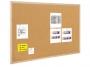 77859123 - tablica korkowa 90x120 cm, rama drewniana Bi-Office Koszt transportu - zobacz szczegóły