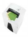 8049082 - niszczarka HSM SECURIO P44i, ścinki 0,78 x 11 mm, tnie do 16 kartek, możliwość cięcia płyt CD/DVD