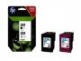 8451146 - tusz, wkład atramentowy Hewlett Packard HP 301, N9J72AE, kolorowy i czarny cmYK, 2x3 ml