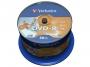 9253820 - płyty DVD-R Verbatim AZO Wide Inkjet Printable Full, 4,7GB, 16x, cake 50 szt.