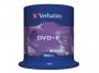 9253930 - płyty DVD+R Verbatim 4,7GB x16 cake 100 szt.