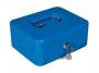 94223 - kasetka na pieniądze średnia Opus CASH GUARD PC 2, 90x200x160 mm, niebieska