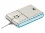 95m1081 - mysz optyczna przewodowa Modecom MC-901 srebrno-niebieska