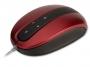 95m1299 - mysz optyczna przewodowa Modecom MC-802 czerwono-czarna