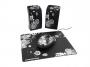 95m1504 - podkładka pod mysz, mysz, głośnik Modecom  Starter Art