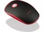 95m1553 - mysz optyczna bezprzewodowa Modecom  WRM113 czerwono-czarna