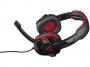 95m1609 - słuchawki Modecom  MC-829 Alien czerwone z mikrofonem