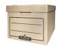 97f00203 - pudło archiwizacyjne Fellowes R-kive Basic ze zdejmowanym wiekiem, karton o wymiarach 340x450x275 mm